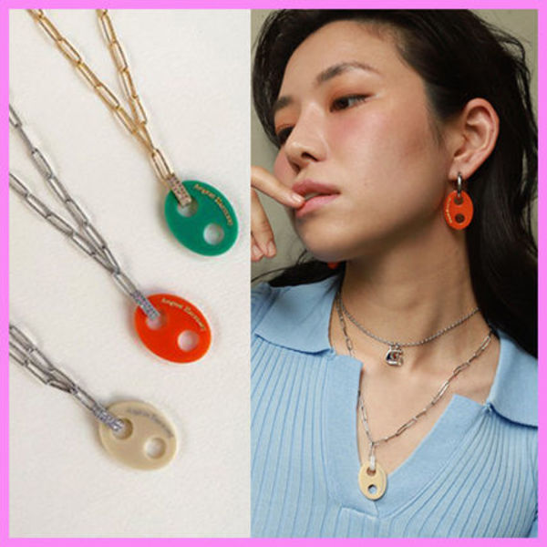 【August Harmony】Pig Nose Necklace〜ピッグノーズネックレス