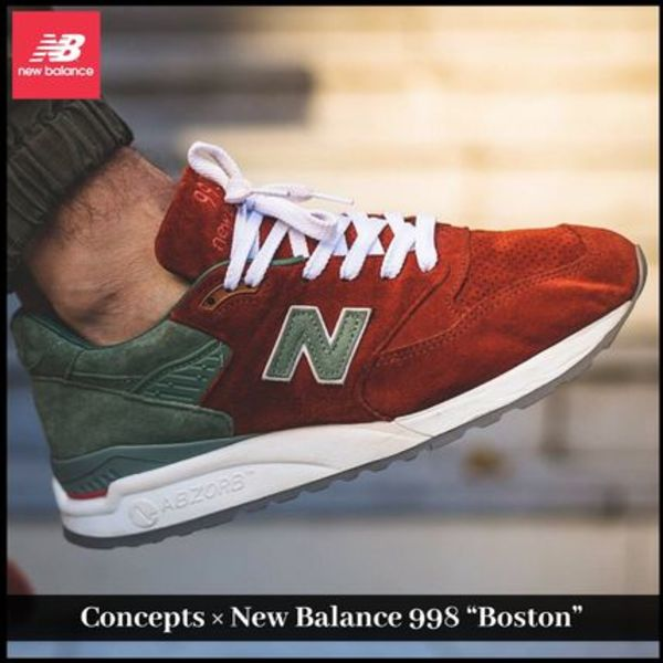 "【New Balance】注目 Concepts × New Balance 998 ""Boston"""