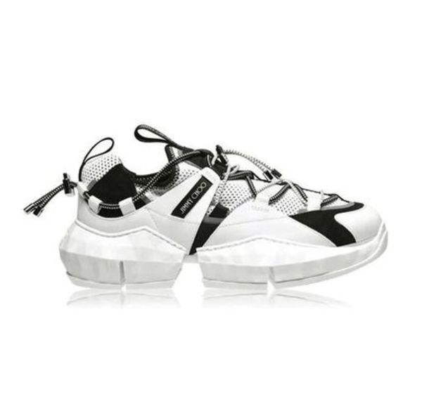 【関税負担】 JIMMY CHOO LOW TOP SNEAKERS