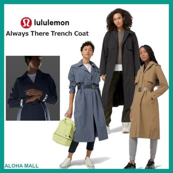 【lululemon】Always There Trench Coat♪防水トレンチコート♪