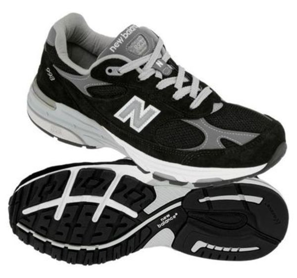 日本完売!!WMNS 男性もOK☆New Balance 993 Black  Made In USA