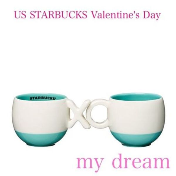 SO!!Valentine★US STARBUCKS限定★XOXO DEMIマグ(2個セット)