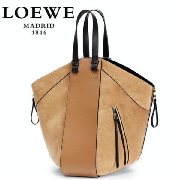 New ∞∞ LOEWE ∞∞ Hammock large leather トートバッグ☆