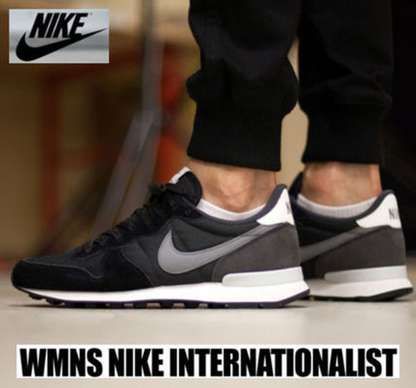 ★NIKE.正規品 INTERNATIONALIST.-016-BLACK-共用★
