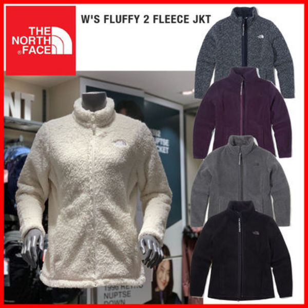 THE NORTH FACE☆W'S FLUFFY 2 FLEECE JKT_NJ4FK84