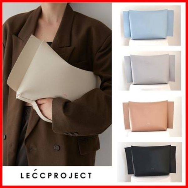 ☆LECC PROJECT☆ ARC CLUTCH BAG 5色 ☆韓国人気☆
