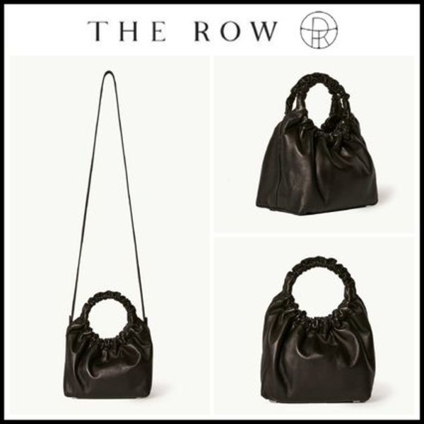 20-21AW新作!! ☆The Row☆ Small Double Circle Bag in Leather