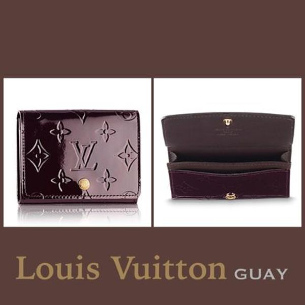 注目!!★Louis Vuitton★Monogram Vernisカードケース☆