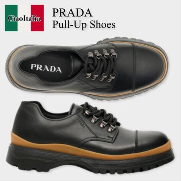 Prada pull-up shoes