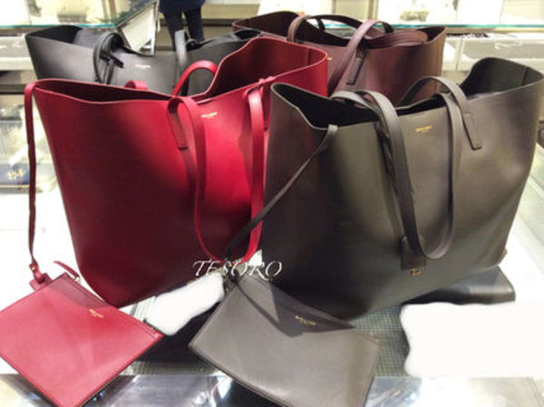 【15AW新作☆】Saint Laurent☆Shopping Tote☆各色