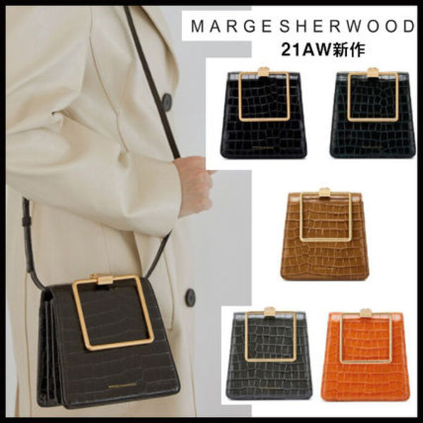 ★MARGE SHERWOOD ★21AW新作★PUMP HANDLE TRIANGLE 5色