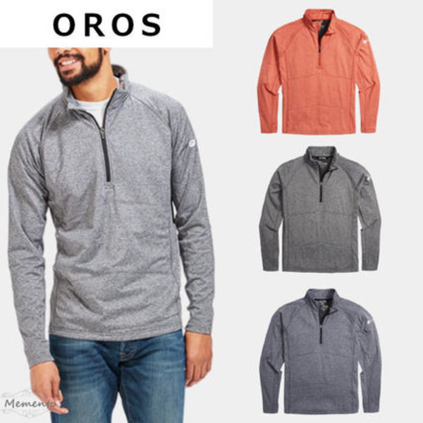 完売すぐ!OROS☆MEN'S EXPLORER QUARTER ZIP