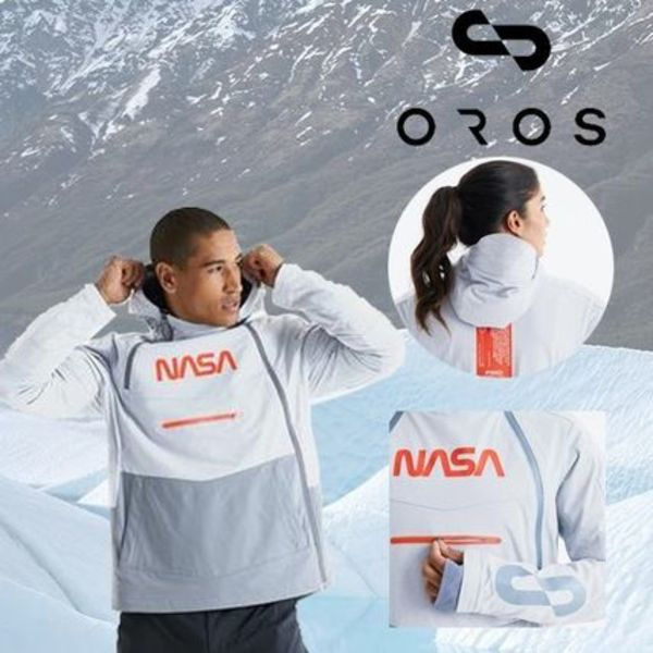 【OROS】OROS x NASA 39A FLIGHT JACKET★GLACIER