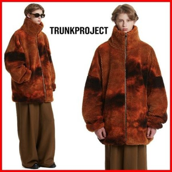 ★TRUNK PROJECT★Tie dye Fleece Zip-Up Jacket☆男女OK!☆