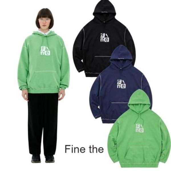 ●Fine The● 20F/W Windows Logo Bending Hoodie 3カラー