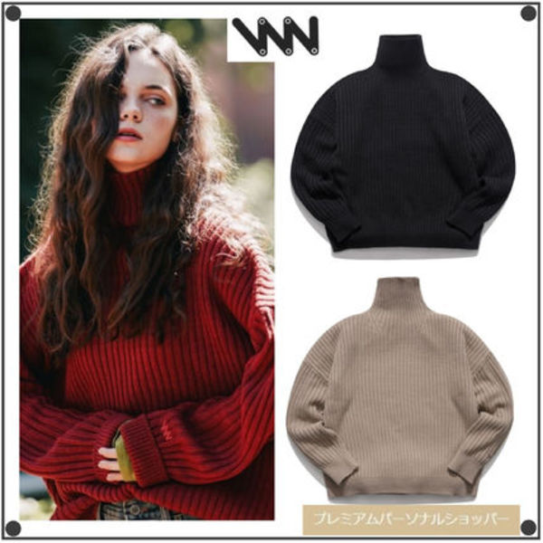 WV PROJECTのPeanutbutter turtleneck Knit 全4色