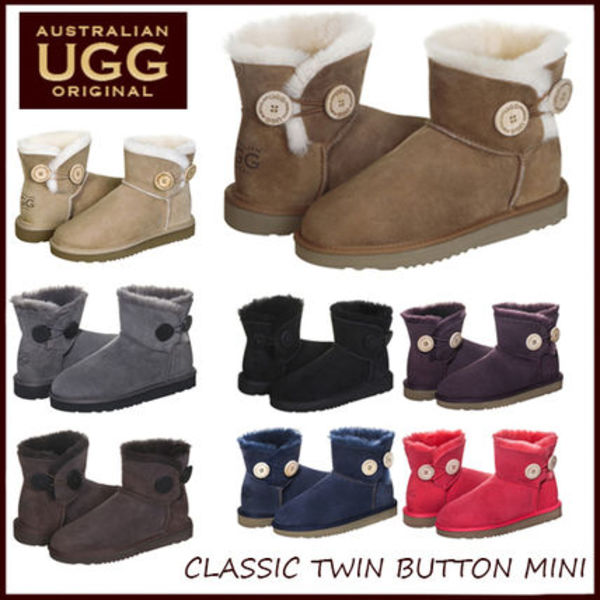 ☆Australian UGG Original☆  CLASSIC TWIN BUTTON MINI