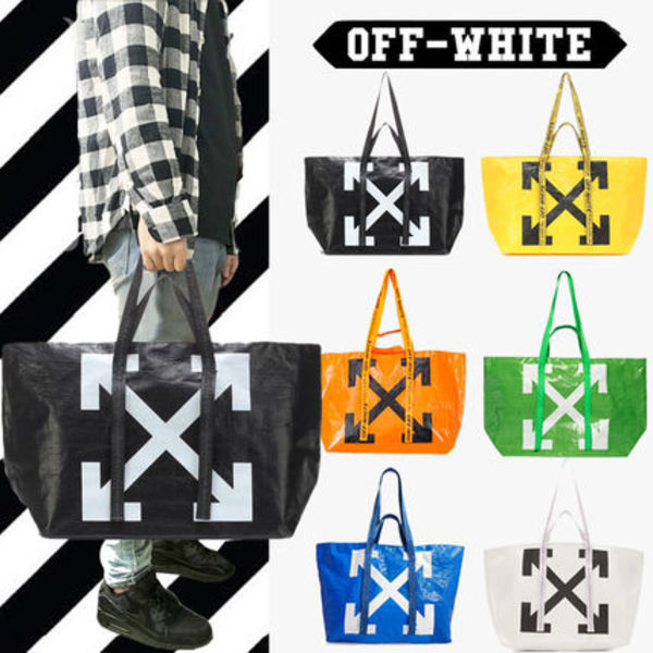 OFF-WHITE COMMERCIAL TOTE ☆VIRGIL ABLOH【送料0/国内即発】