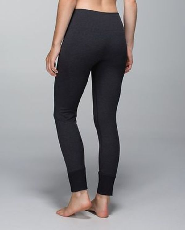 Ebb to street pant - heathered black