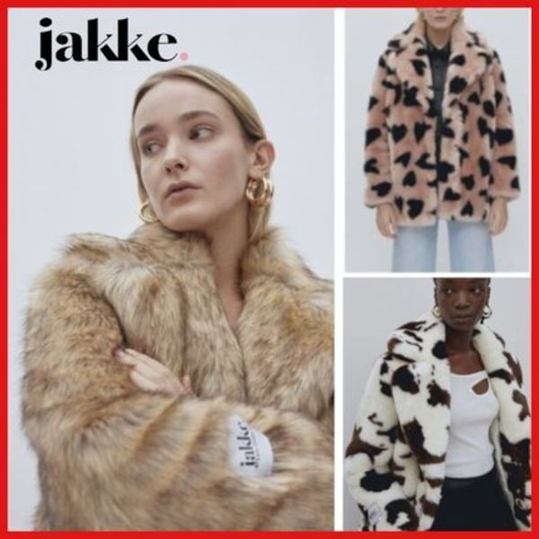 Jakke☆ Heather Faux Fur ジャケット ☆UK発