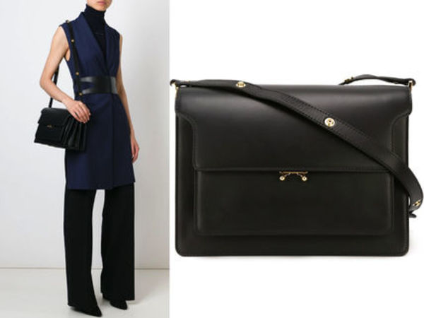 15AW M062 MARNI large 'Trunk' shoulder bag