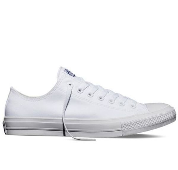 新作★海外限定★送料込★Converse All Star Ⅱ Low Cut White