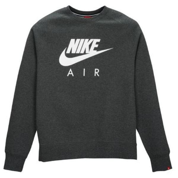 FW15 NIKE MEN'S CREWNECK CREW CHARCOAL S-3XL 送料無料