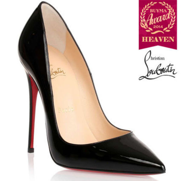TOPセラー賞受賞┃ルブタン┃So Kate 120 patent black pump
