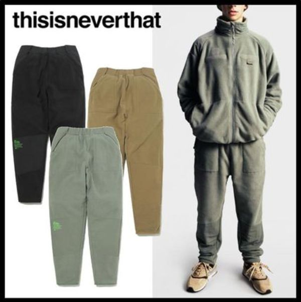 ★関税込★thisisneverthat x NB★NB TNT PT FLEECE PANT★3色★