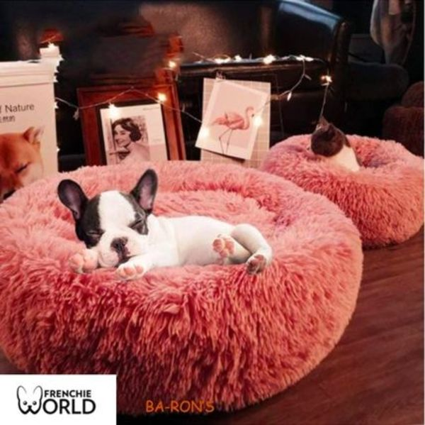 【送料無料】FRENCHIE WORID-Donut Cuddler Bed Lサイズ