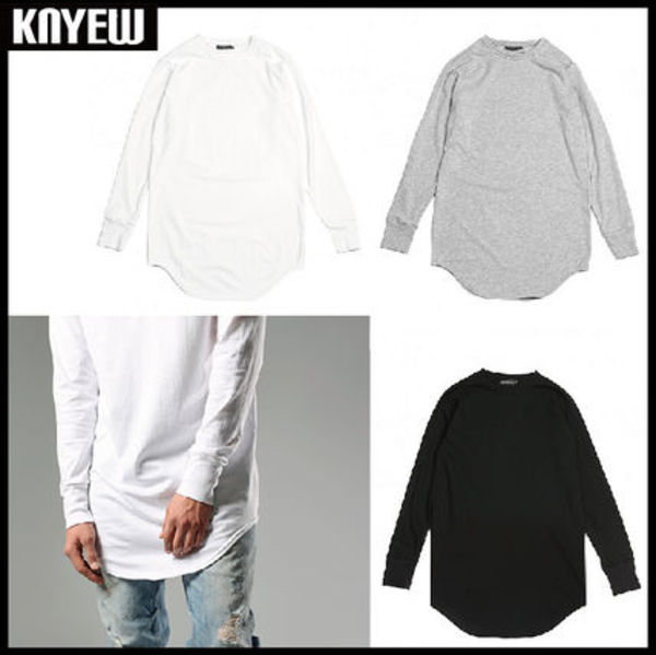 アメリカで話題の新作!KNYEW - Long Sleeve E-long Scoop Tee