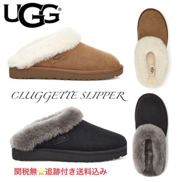 UGG CLUGGETTE SLIPPER★アグ クラゲット ルームシューズ/追跡付
