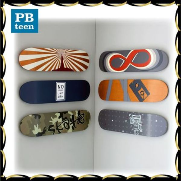 PBteen♪写真*Skate Deck Wall Art*6点セット