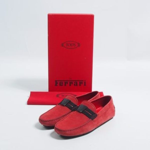 TOD'S::トッズFORフェラーリ:UK5.5[RESALE]