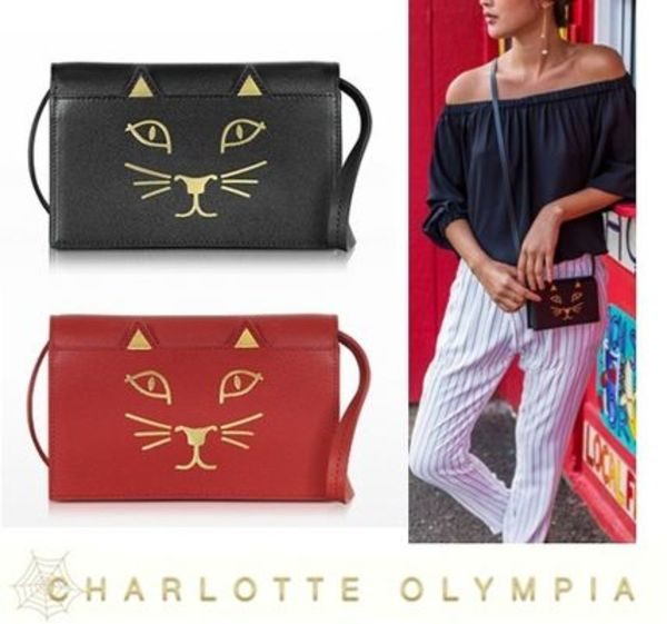 【関税送料込】Charlotte Olympia★KITTY FELINE PURSE★2015AW