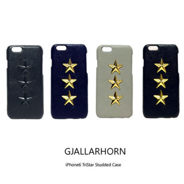 GJALLARHORN iPhone6 TRI STAR レザーケース