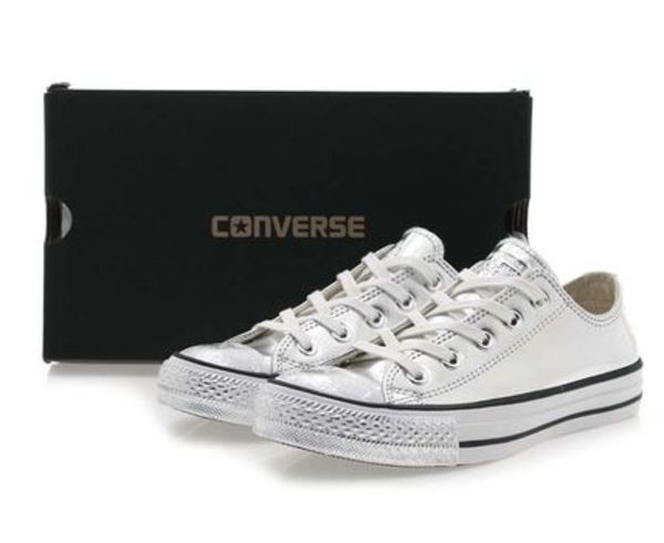 ★CONVERSE★CT ALL STAR OX★シルバー★22~27cm・