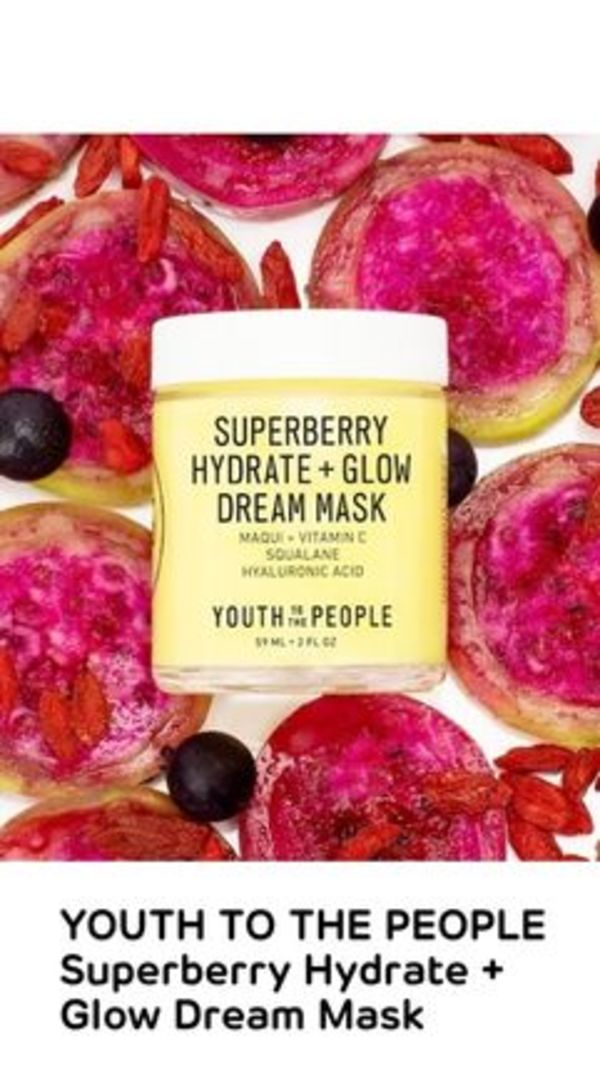 〈YOUTH TO THE PEOPLE 〉Superberry Hydrate + Glow Dream Mask