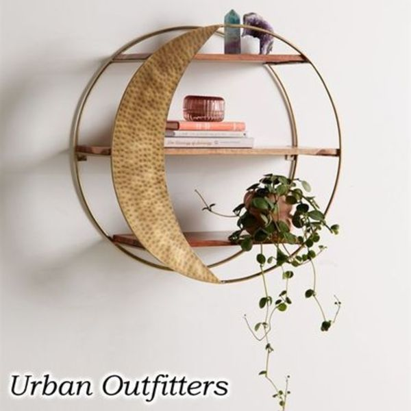 お洒落★URBAN OUTFITTERS★Moon Circle Wall シェルフ ラック