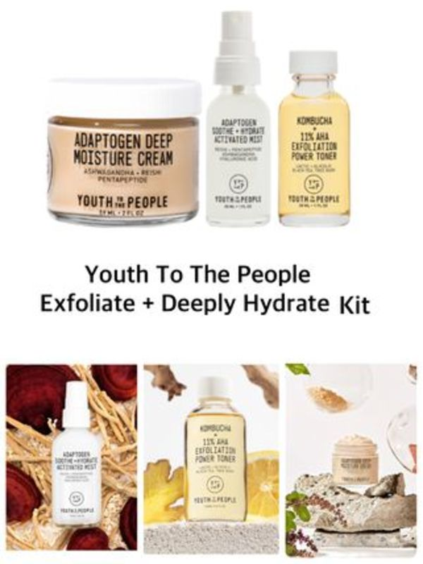 〈YTTP〉★2020AW★限定★ Exfoliate + Deeply Hydrate Kit
