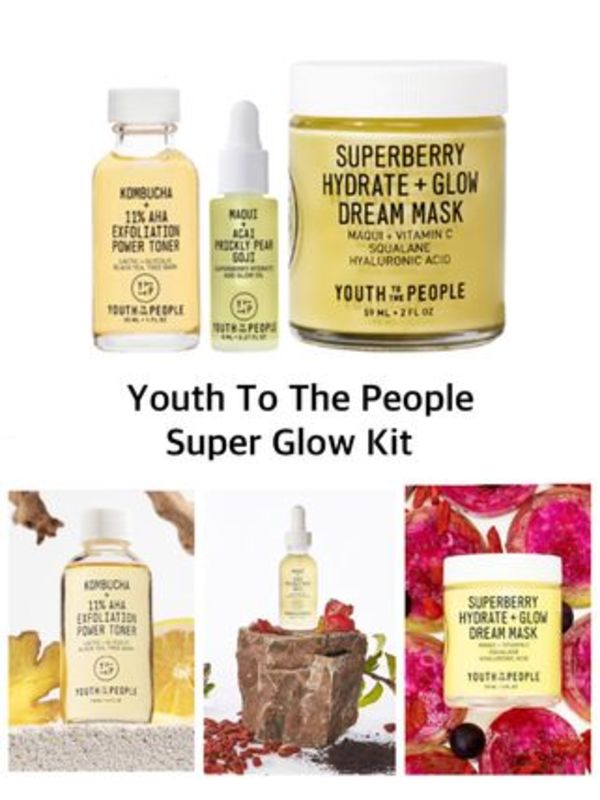 〈YTTP〉★2020AW★Youth To The People Super Glow Kit