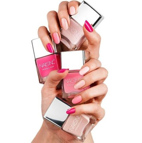 Nails Inc Perfect Pink パーフェクトピンク 全色 4点セット