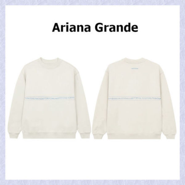 海外限定*Ariana Grande*positions wrap around スウェット 白