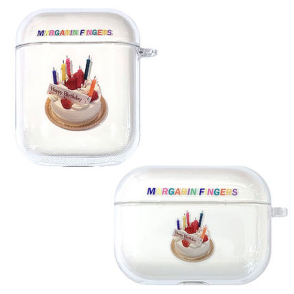 ★Margarin Fingers★日本未入荷 韓国 ケースCAKE AIR-PODS CASE