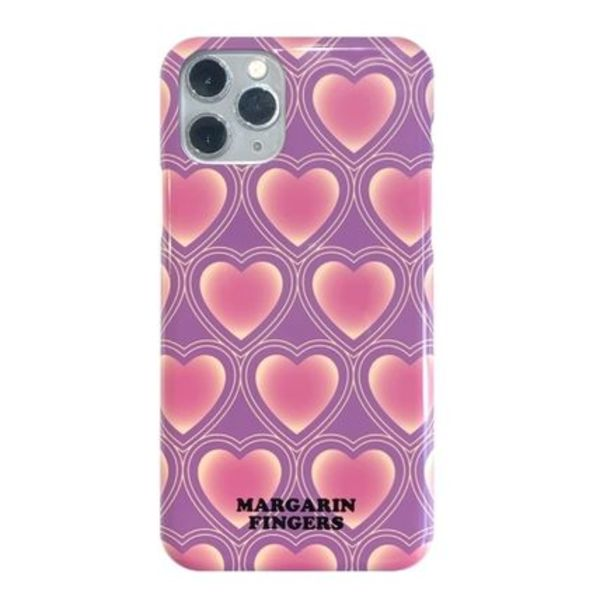 ★Margarin Fingers★ gradation heart iPhone ケース