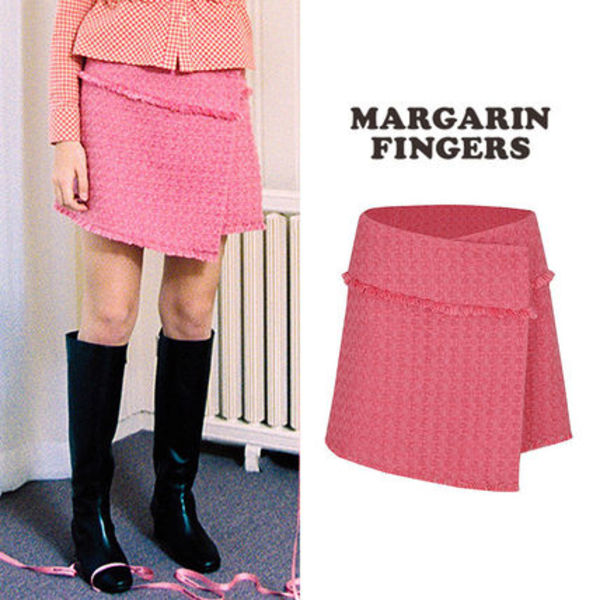 ★Margarin Fingers★新作★送料込み 大人気 candy tweed skirt