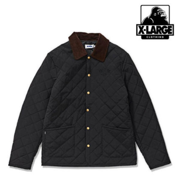 【XLARGE】QUILTED JACKET☆キルトジャケット☆追跡付