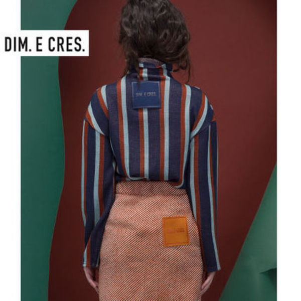 DIM E CRES正規品★VERTICALタートルネックニット★for Womens