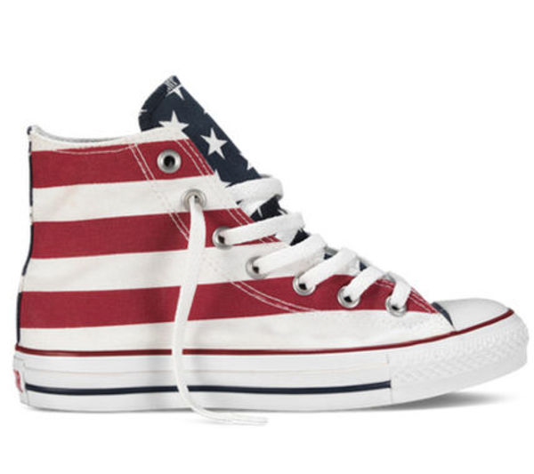 海外限定★送料込み★Converse All Star Stars and Bars Hi