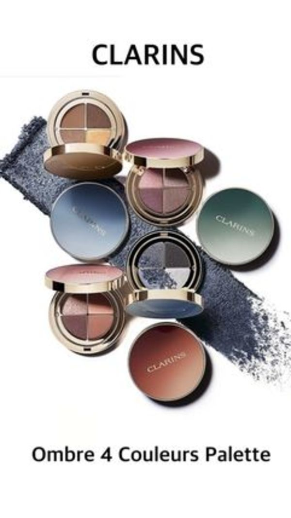 〈Clarins〉 ★2020AW★Ombre 4 Couleurs Palette